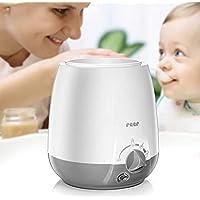 reer Simply Hot Babyverwarmer voor flessen en glazen, met warmhoudfunctie, wit/grijs
