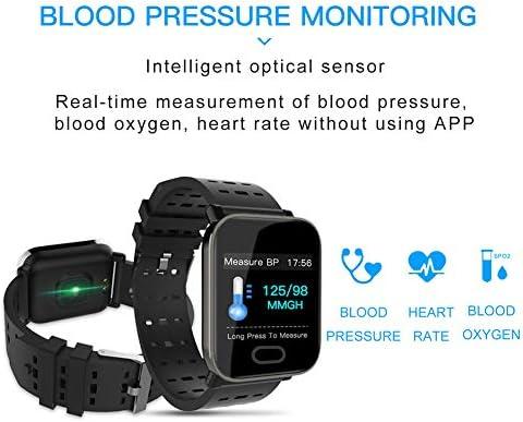 Amazon.com: AIFSH Waterproof Smartwatch, Color Screen ...