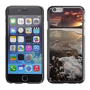 "Print Motif Coque de protection Case Cover // F00002161 al aire libre mar serena orilla del // Apple iPhone 6 6S 6G 4.7"""