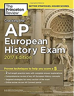 Amazon barrons ap european history 8th edition 9781438007397 cracking the ap european history exam 2017 edition proven techniques to help you score fandeluxe Choice Image