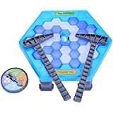 YXwin Save Penguin Game Ice Cube Breaking Puzzle Game Toys for Kids Family Gathering Party