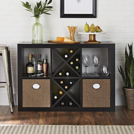 Better Homes and Gardens 6-Cube Organizer, GRAY