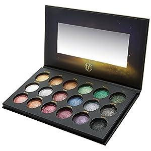 BH Cosmetics Supernova 18 Color Baked Eyeshadow Palette, 0.39 Pound