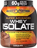 Body Fortress Super Advanced Whey Isolate, Chocolate, 2 Pound