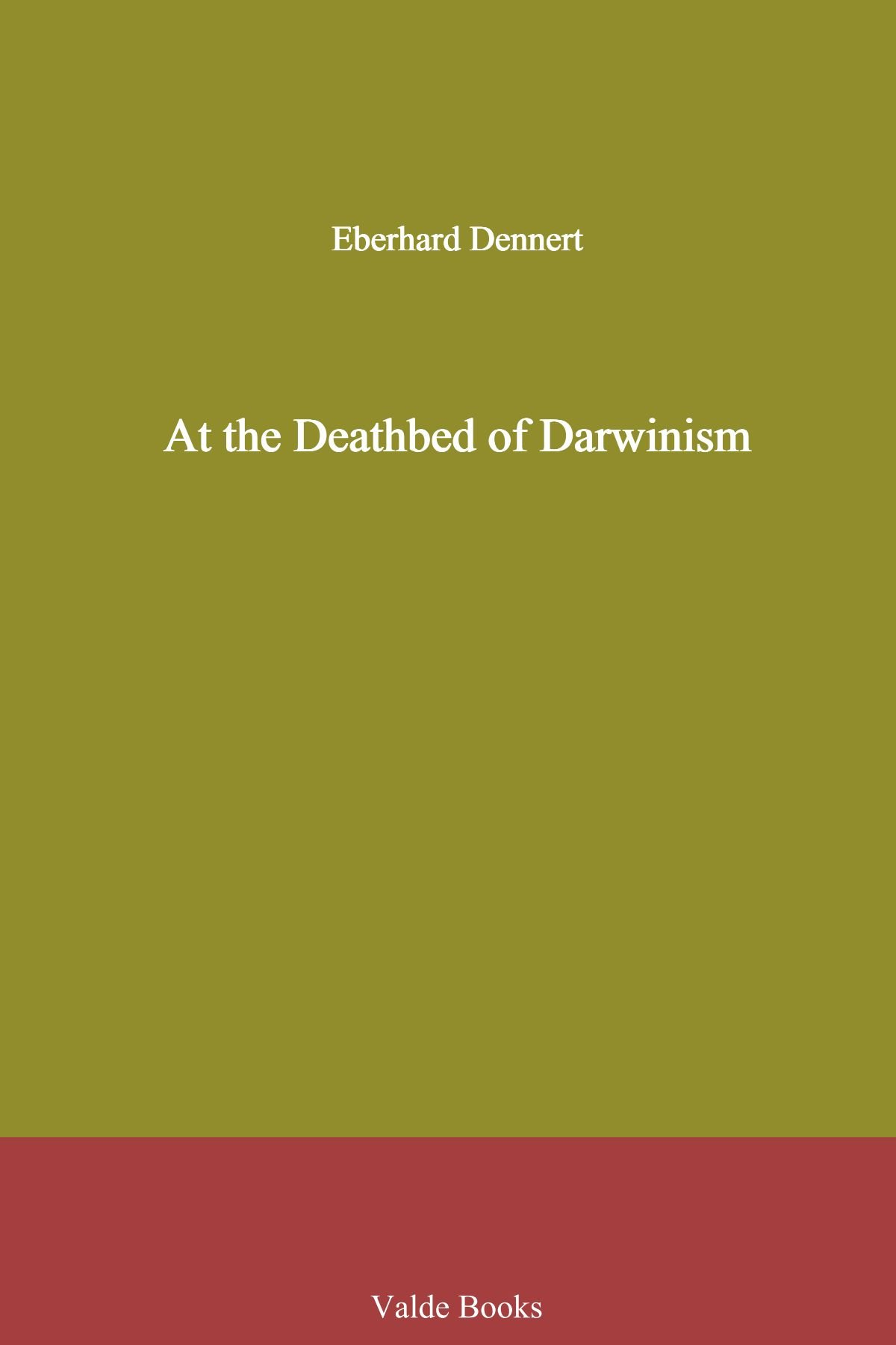 Download At the Deathbed of Darwinism PDF