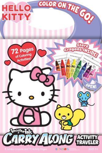 Bendon Hello Kitty Carry Along Activity Traveler book by Bendon Publishing