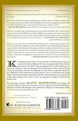 99 Drams Of Whiskey: Kate Hopkins: 9780312638320: Amazon.com ...