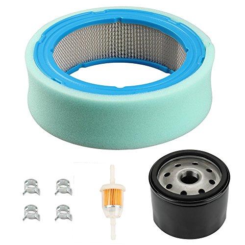 Harbot Air filter with Pre-cleaner Oil Filter Tune Up Kit for John Deere LT166 LT170 LTR155 LTR166 SST16 SST18 LX288 GT235 GT125E SABRE 2048HV 1846HV Garden Tractor