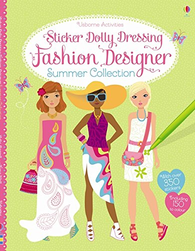 Fashion Sticker - Fashion Designer Summer Collection - Sticker Dolly Dressing