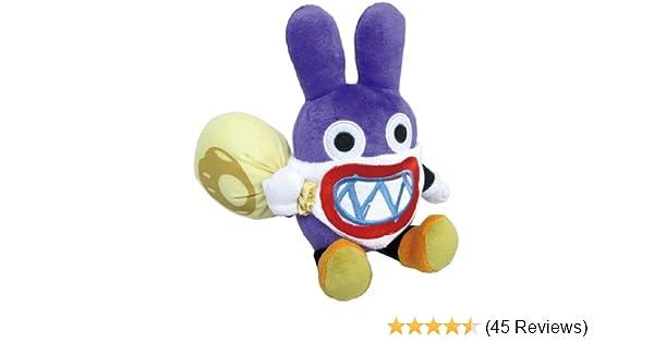 "Super Mario Bros Wii U Stuffed Plush Toy Doll by Sanei 9/"" Nabbit"