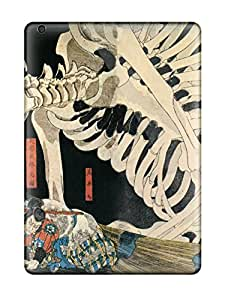 Best Hot Tpu Cover Case For Ipad/ Air Case Cover Skin - Skeletons And Samurais 5452269K37164126