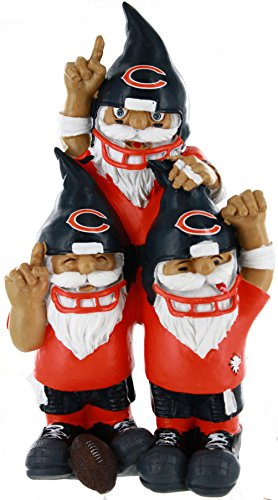 Team Celebration Gnomes (Chicago Bears Team Celebration Gnome - Forever Collectibles)