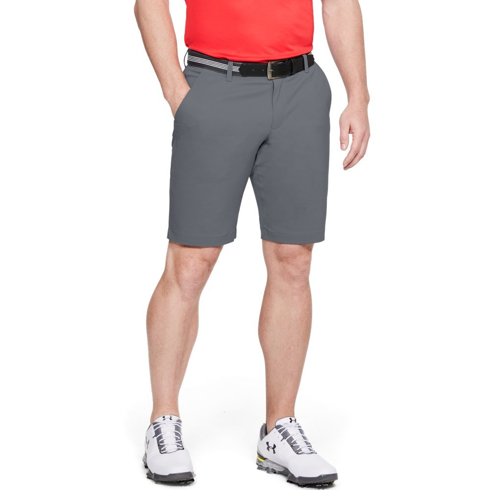 Under Armour Men's Takeover Golf Taper Shorts, Zinc Gray (513)/Zinc Gray, 38 by Under Armour