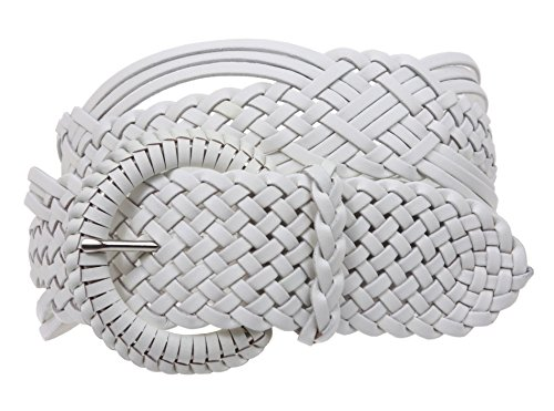 White Braided Leather - 2