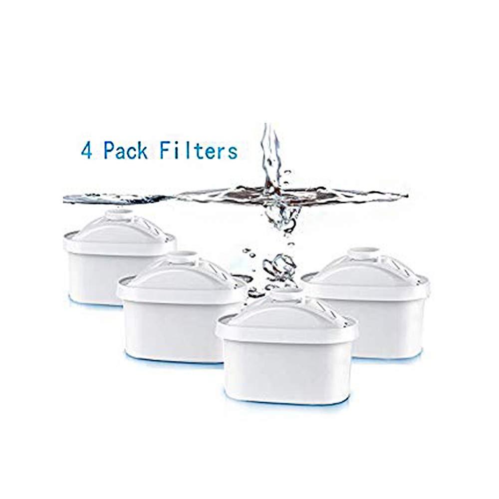 Sici Cartucce filtranti per Il Trattamento dell'Acqua, Confezione da 4 cartucce, per casa, ristoranti Prezzi