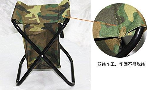 Lezed sgabello da esterno sedia camouflage con il cassetto