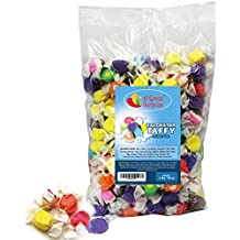 A Great Surprise Saltwater Taffy - Salt Water Taffy from Jersey Shore - Saltwater Taffy Assorted Flavors - Bulk Candy, 3 LB Party Bag, Family Size