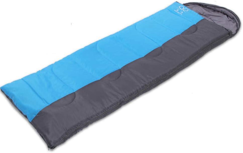 Ummy slaapzak Camping Wandelen Waterproof stitchable Envelop Slaapzak, Warm Mummy ademend Slaapzak Professionele Mummy Slaapzak (Color : Orange) Blue