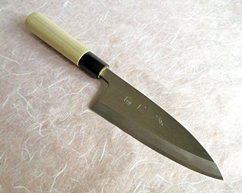 Sakai Takumi Ajimasa, Japanese Kitchen Knife DC150, Ajimasa Deba150mm/5.9'' by SAKAI TAKUMI AJIMASA (Image #1)