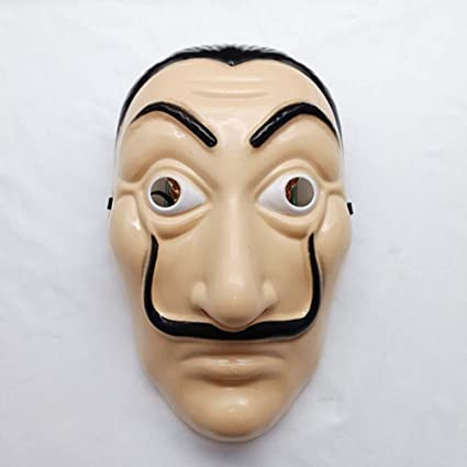 Juweishangmao Salvador Dali Original La Casa De Papel MascaraHeist The House Paper La Casa Papel Costume MASK Hot