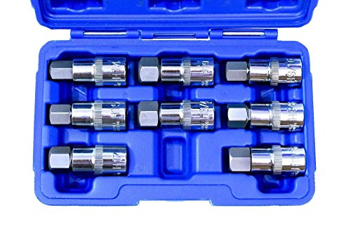 "NEW 1/2"" Drive Jumbo Hex Bit Sockets 