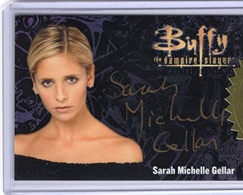 Buffy The Vampire Slayer Ultimate Collectors Series 3 - Sarah Michelle Gellar Gold Signature Autograph Trading Card