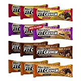 FITCRUNCH Protein Bars | Protein Bar | Designed by Robert Irvine | World's Only 6-Layer Baked Bar | Just 6g of Sugar & Soft Cake Core (12 Bars, Variety Pack)