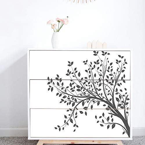 Alwayspon Adhesivos para muebles IKEA MALM, 3 unidades de 80 x 20 cm
