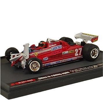 Ferrari 126CK Turbo 81 Montreal GP # 27 Gilles is racing (1/43 KBB003) (japan import): Amazon.es: Juguetes y juegos