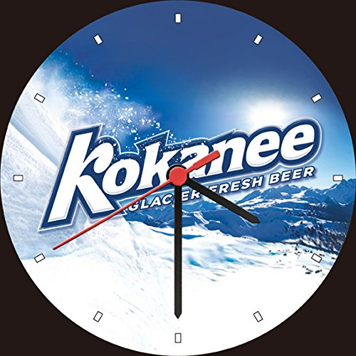 kokanee-glacier-fresh-beer-wall-clock