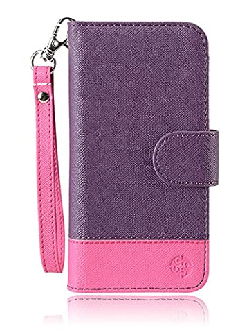 monsoon NAPLES Wallet Case Cover for Amazon Fire Phone (PURPLE / PINK) (Monsoon Naples Wallet Case Cover)