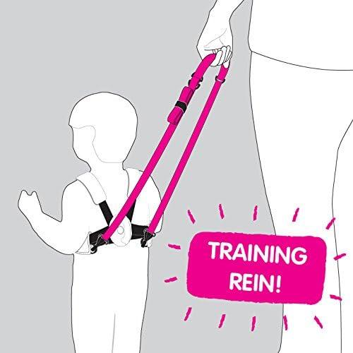 Pink Betsy Bear Arn/és infantil para caminar Trunki ToddlePak
