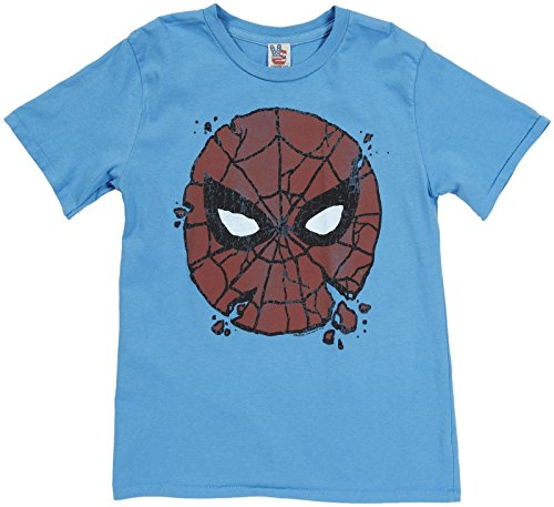 Junk Food Big Boys' Graphic Tee (Toddler/Kid) - Spider-Man I'm Amazing - 14/16