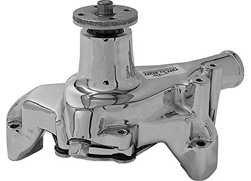Tuff Stuff 1449NA Chrome Long Water Pump for Small Block Chevy