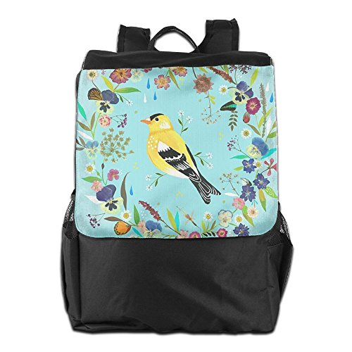 Backpack Storage Dayback Camping For Men and Travel Personalized HSVCUY School Birds Outdoors Shoulder Women Adjustable Strap Beautiful SA7nEPq1w