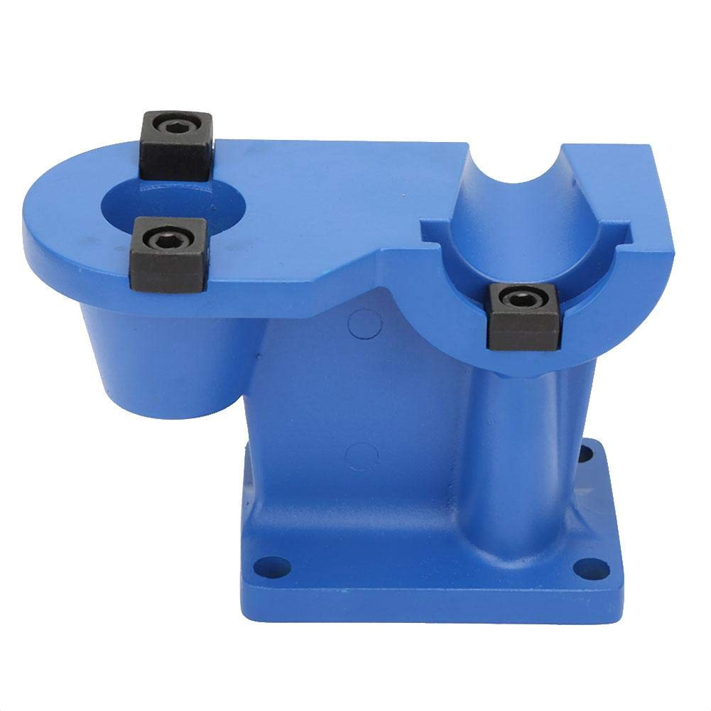 Aluminium CNC Tool Holder Integrated Locking Vise Tightening Fixture Fastener Disassembly Accessories(BT30) by FTVOGUE