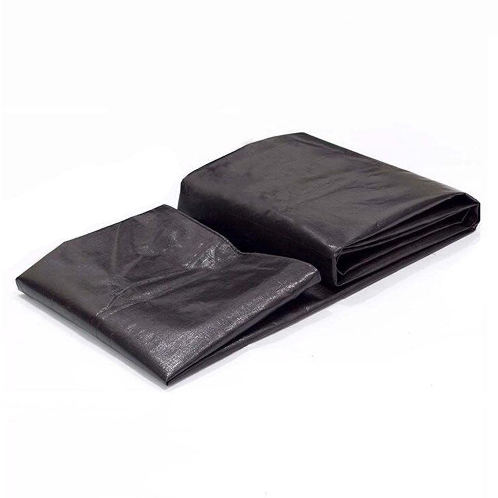 QAR Starke Farbe Schwarze Farbe Starke Streifen Tuch Wasserdicht Wasserdicht Tuch Sonnenschirm Kunststoff Tuch Plane Kunststoff Blume Plane Zelt abf593