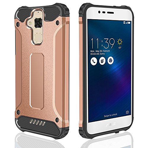 Slim Armor Case For Asus Zenfone 3 Max (Gold) - 3