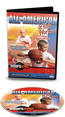 HoopsKing All-American Jr. High Basketball Workout Training Video, Comprehensive & Intense ()