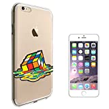 """C01571 - Melting Rubik Cube Design iphone 7 Plus 5.5"""" Fashion Trend CASE Gel Rubber Silicone All Edges Protection Case Cover"""