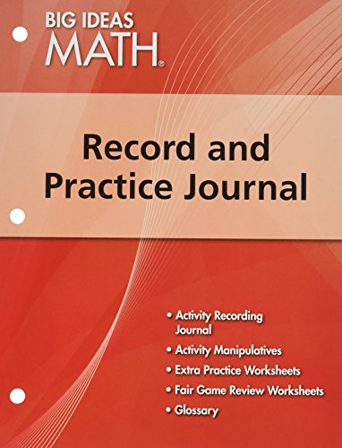 Big Ideas Math  Record   Practice Journal Red Course 2