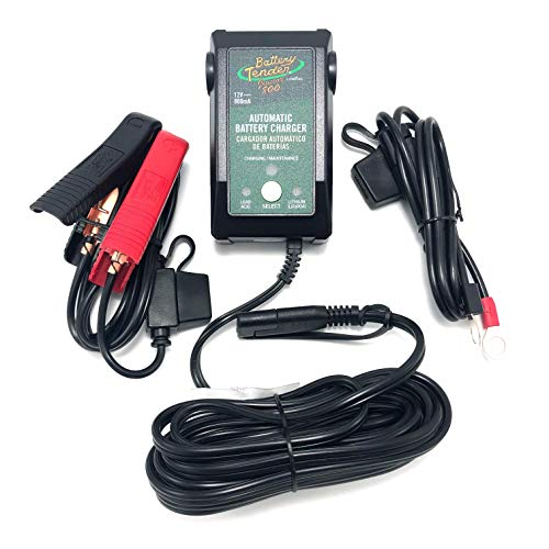 Output: 12 volts at 800 mA 220199 Junior 800 12-Volt Selectable Lead-Acid/Lithium Battery Charger (Lifepo4 Battery Tender)