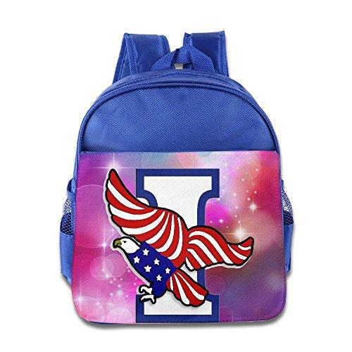 Barriory Independence Eagle And American Flag Kids Shoulders Bag - Kids Chanel Bag
