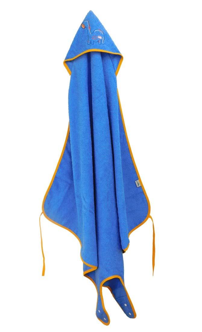 Slumberbaby Toalla de Ba/ño tipo Delantal con capucha ELEFANTE ROSA 100cmx100cm