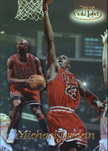 Gold Topps Label 1998 (1998 Topps Gold Label Basketball Card (1998-99) #GL1 Michael Jordan Mint)