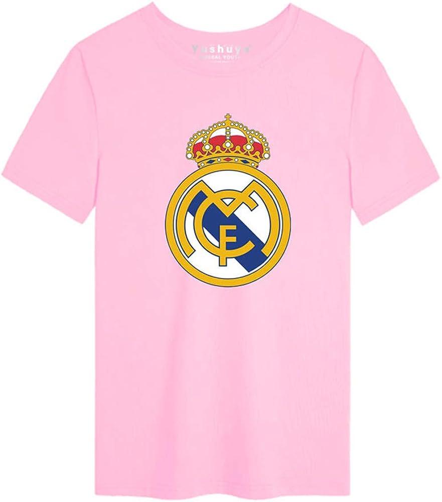 Hombres Algodón Camiseta Real Madrid Aficionados Masculino Camisa ...