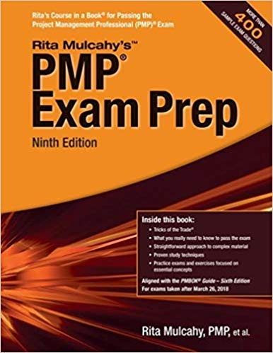 [194370404X] [9781943704040] PMP Exam Prep: Accelerated Learning to Pass the Project Management Professional (PMP) Exam 9th Edition-Paperback
