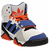 Adidas Originals Streeball 1.5 Basketball Sneaker Shoe - White/Vivid Blue/ Black - Mens - 10.5