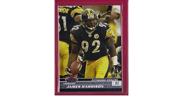 buy online 5dcf7 3bc9b Amazon.com: 2008 Stadium Club #87 James Harrison RC ...