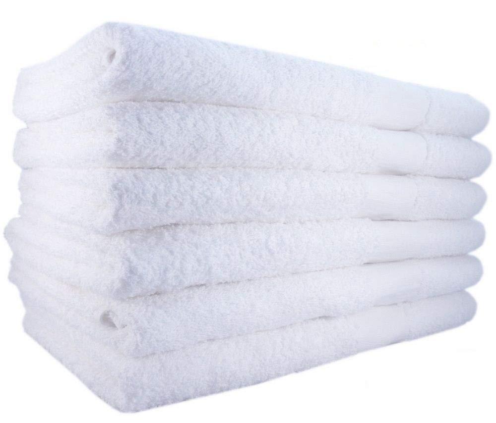 36 New Cotton Hotel Bath Salon Towels Soft 20x40 Super Absorbent Nail spa